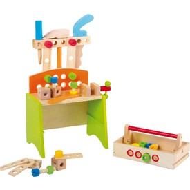 Legler Dětský dřevěný Dílenský stůl Deluxe