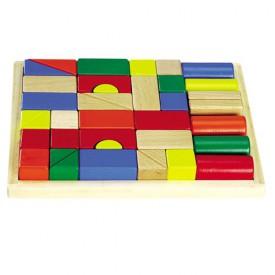 Dřevěné hračky - Dřevěné kostky - Kostky