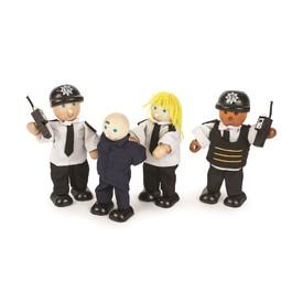 Tidlo Postavičky policisté a zloděj