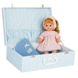 Petitcollin Panenka CALINETTE 28 cm Sophie v kufříku