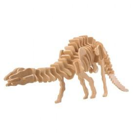 Dřevěné 3D puzzle skládačka dinosauři - Apatosaurus J008