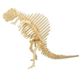 Dřevěné 3D puzzle skládačka dinosauři - Spinosaurus J009