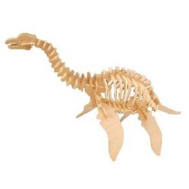 Dřevěné 3D puzzle skládačka dinosauři - Plesiosaurus J010