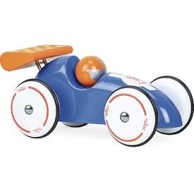 Vilac Závodní auto XL modré s oranžovým křídlem