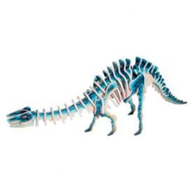 Dřevěné 3D puzzle skládačka dinosauři -  Apatosaurus JC005