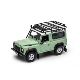 Welly - Land Rover Defender 1:24 zelený