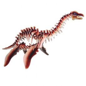Dřevěné 3D puzzle skládačka dinosauři -  Plesiosaurus JC010
