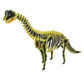Dřevěné 3D puzzle skládačka dinosauři -  Brachiosaurus JC013