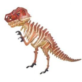 Dřevěné 3D puzzle dinosauři -  Tyranosaurus T-REX JC014