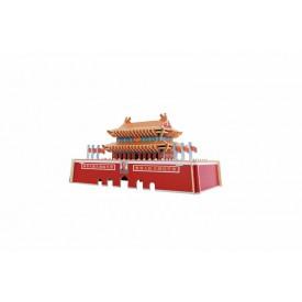Dřevěné skládačky - Brána nebeského klidu - Tian An Men