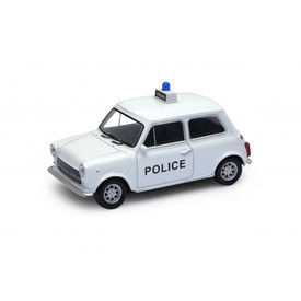 Welly - Mini Cooper 1300 Police model 1:34 bílý