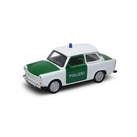 Welly - Trabant 601 Polizei model 1:34 bílý