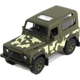 Welly  Land Rover Defender Armor Squad  model 1:34 zelený