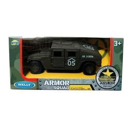 Welly  Obrněné auto 05 Armor Squad  model 1:34 zelený