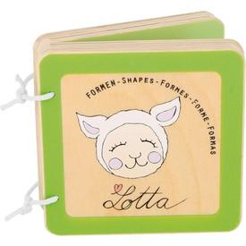 Small Foot Dřevěná knížka Lotta