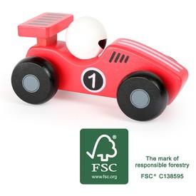 Small Foot Dřevěné auto Dasher červené