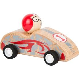 Small Foot Dřevěné auto Pull-back červené