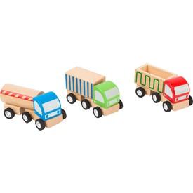 Small Foot Dřevěný náklaďák 1ks červená