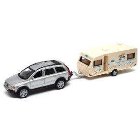 Welly Volkswagen s karavanem model 1:34