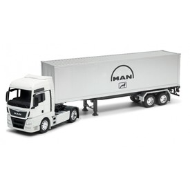Welly MAN TGX tractor trailer1:32