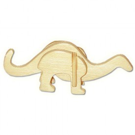 Dřevěné 3D puzzle skládačka - dinosauři Apatosaurus MA1038