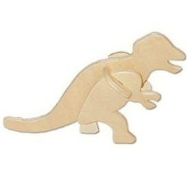 Dřevěné 3D puzzle skládačka - dinosauři Tyranosaurus MA1039
