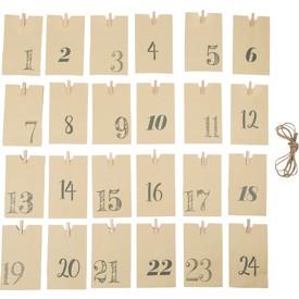 Legler Adventní kalendář - Papírové taštičky