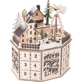 Legler Adventní kalendář s vánoční pyramidou