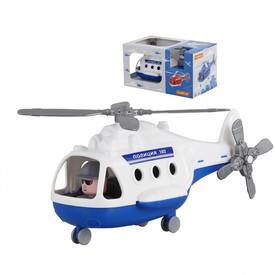POLESIE Vrtulník ALFA Policie bílý