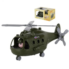 POLESIE Vrtulník ALFA Vojenský