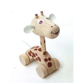 CEEDA CAVITY Žirafa na kolečkách