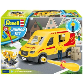 Revell Junior Kit 00814 Auto Delivery truck s figurkou 1:20