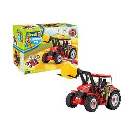 Revell Junior Kit 00815 Traktor s řidičem 1:20