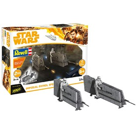 REVELL Build & Play Star Wars 06768 Imperial Patrol Speeder