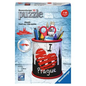 Ravensburger puzzle 3D Stojan na tužky I LOVE YOU PRAGUE