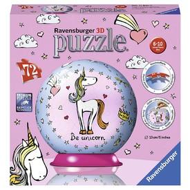 Ravensburger Puzzle Puzzleball Jednorožec 72 dílků