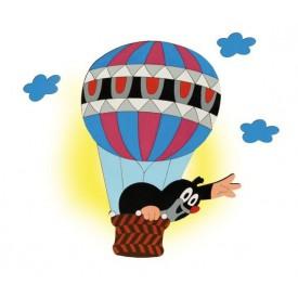 Dětská lampička - Krtek v balónu