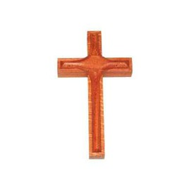 Dřevěné přívěšky Kříž velký