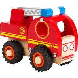 Small Foot Dřevěné hasičské auto s žebříkem