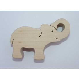 Dřevěné zvířátko Slon