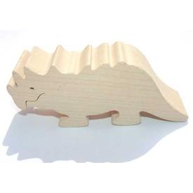 Dřevěné zvířátko Triceratops