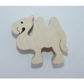 Dřevěné zvířátko Velbloud