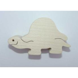 Dřevěné zvířátko Želva