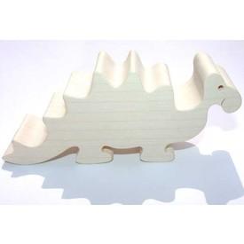 Dřevěné zvířátko Stegosaurus