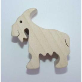 Dřevěné zvířátko Koza
