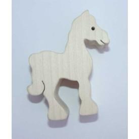 Dřevěné zvířátko Kůň