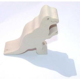 Dřevěné zvířátko T-rex