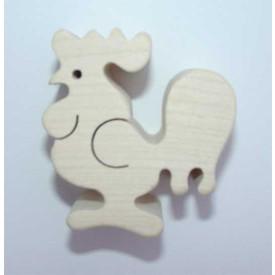 Dřevěné zvířátko Kohout