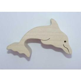 Dřevěné zvířátko Delfín
