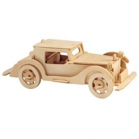 Dřevěné 3D puzzle dřevěná skládačka auta Auburn 851 SC P018